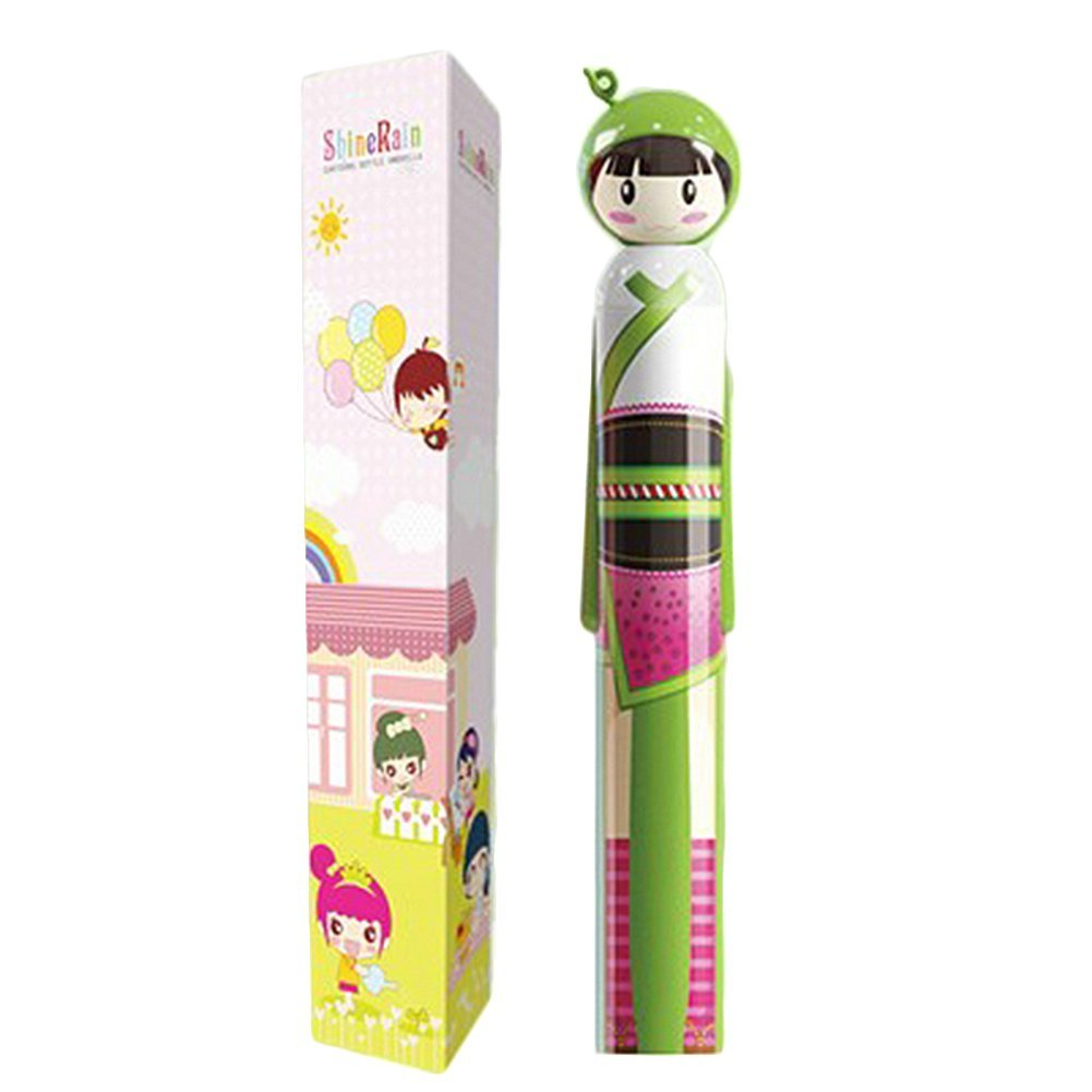 Save fruit doll - Hgho Cartoon Fruit Doll Sun Rain Umbrella Outdoor Foldable Kokeshi Parasol China Mainland
