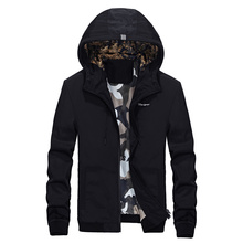 Frühling Neue Männer Marke Kleidung Sportbekleidung mäntel Men Fashion Windjacke Reißverschluss Mäntel Outwear Männer Kapuzenjacke M-4XL