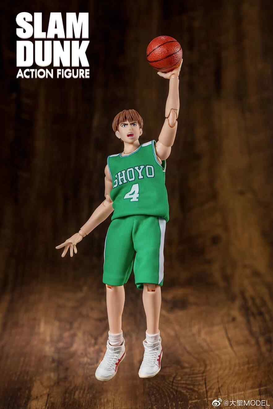 Free Shipping SLAM DUNK Action Figure Shoyo Toru Hanagata Fujima Kenji 2pcs Set