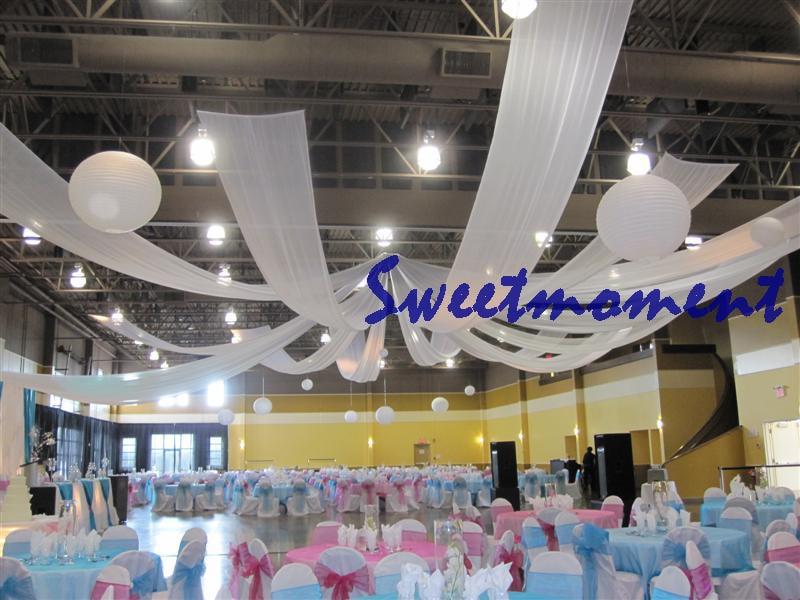 Hochzeit Dach Drapieren hochzeit stoff chuppah vorhang in Hochzeit ...