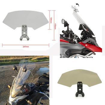 Мотоцикл для bmw R1200GS G310GS F750GS F850GS Универсальный Регулируемый расширитель дефлекторы ветровой экран ветровое стекло экран щит