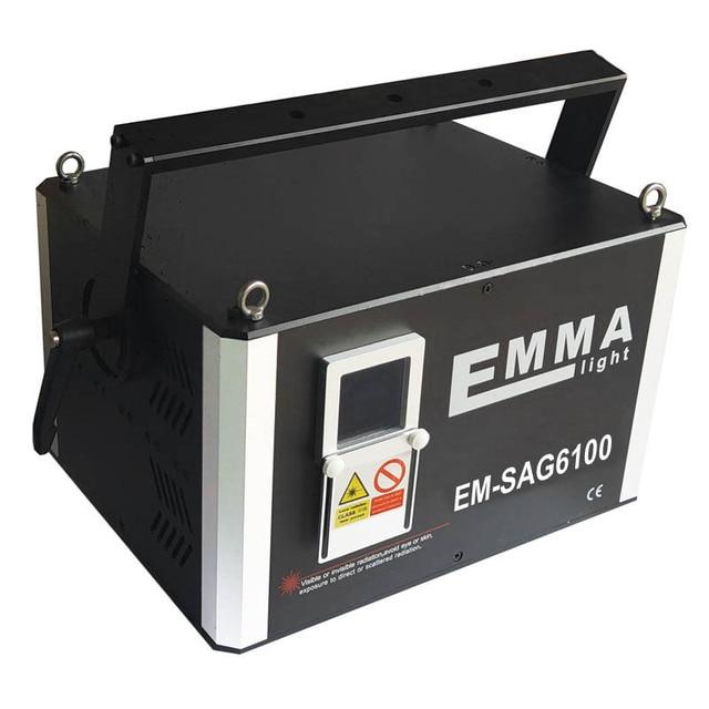 10 ואט ירוק אור לייזר Ilda dmx לייזר אור הצג 10000 MW ירוק אנימציה לייזר מקרן עם 3D אפקט, 3 W dj מסיבת אור