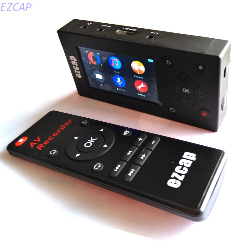 2017 new AV Recorder capture Convert VHS Camcorder Tapes to Digital Format 8GB Memory 3 Screen for DVD Player,Free shipping 2017 new convert analog digital vhs for game box rca to usb2 0 window 7 8 vhs to pc free shipping