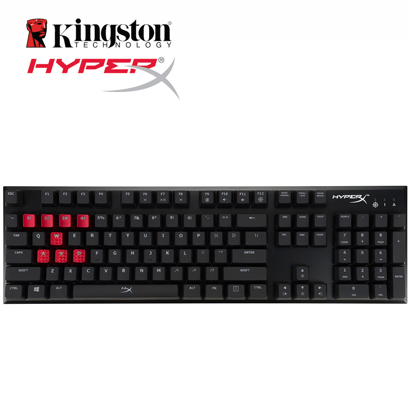 75818d94ace HyperX Alloy FPS Pro Mechanical Gaming Keyboard Backlight LED 100 per cent  anti ghosting and full N key rollover functions-in Keyboards from Computer  ...