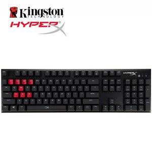 Image 4 - HyperX alaşım FPS mekanik oyun klavyesi arka işık LED 100 yüzde anti gölgelenme ve tam N tuşu rollover fonksiyonları