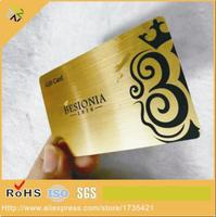 Customized Design Hollowed Out High End HF VIP Card Plastic Card Business Card