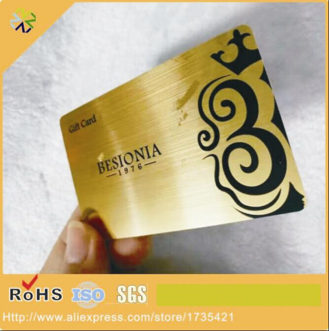 (1000pcs/lot)Customized Design High-end both side brushed look plastic brushed cards(1000pcs/lot)Customized Design High-end both side brushed look plastic brushed cards