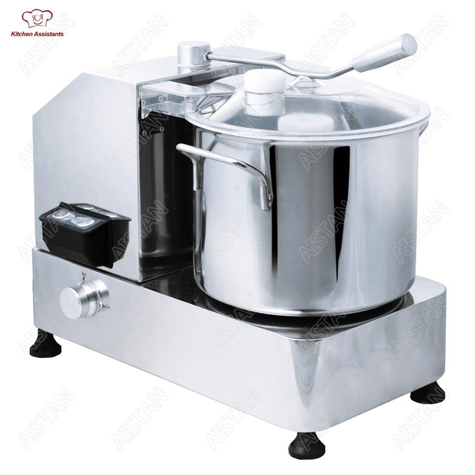 HR Serie In acciaio inox per uso professionale rotto macchina di taglio per la carne tritacarne grinder taglierina di verdure robot da cucina