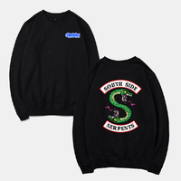 Thick Pullover Men Pop Fleece Men Sweatshirts Nice Spring Fashion Long Sleeve Casual O Neck Snake Print Mens Clothing Streetwear