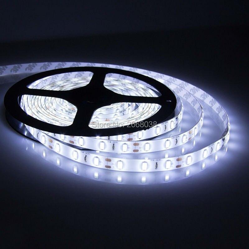 WFTCL Led Strip Light 300LEDs 5Meter 16.4Ft Roll Super Bright DC12V 25Lm/LED High brightness LED Light 5630 LED Tape lights