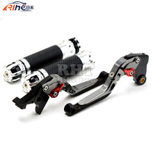 Handlebar Motorcycle Handle Bar Grips Adjustable Clutch Brake Levers For KAWASAKI Z800/E version 2013 2014 2015 2016 Z800 Z 800