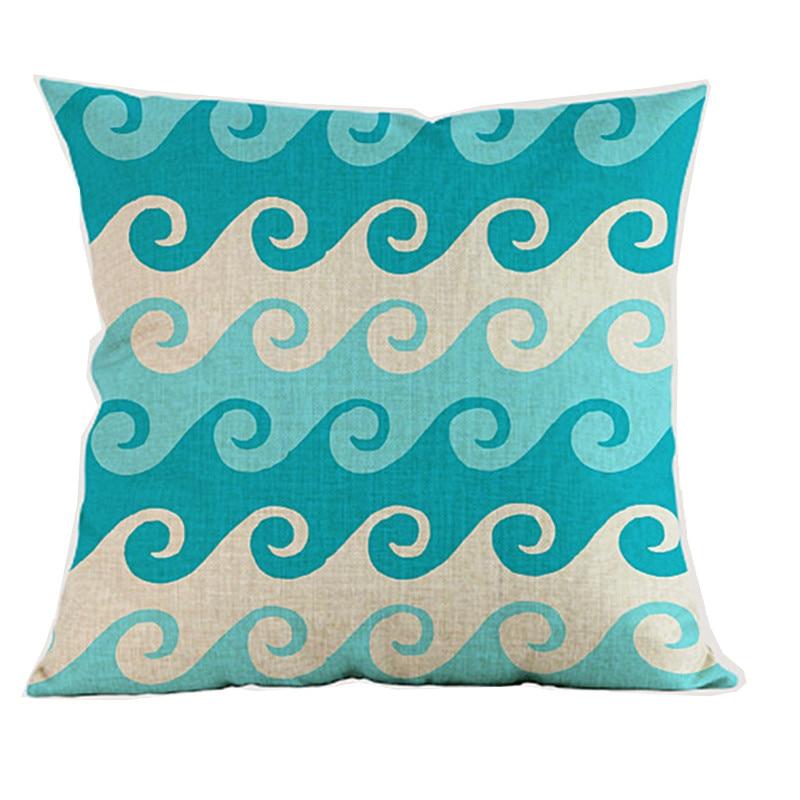 Океански вълни морски вълна - Домашен текстил - Снимка 2