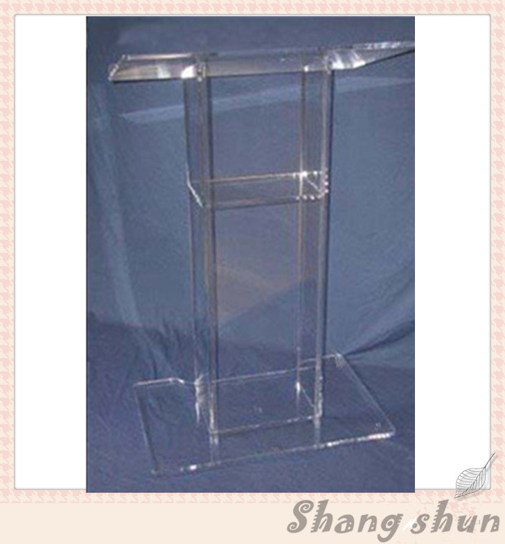 Acrylic Church Podiums, Acrylic Pulpit Furniture, Acrylic Rostrum, Plexiglass Dais Acrylic Lectern Podium transparent acrylic school lectern acrylic platform perspex rostrum plexiglass dais cheap church podium