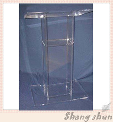 Acrylic Church Podiums, Acrylic Pulpit Furniture, Acrylic Rostrum, Plexiglass Dais Acrylic Lectern Podium