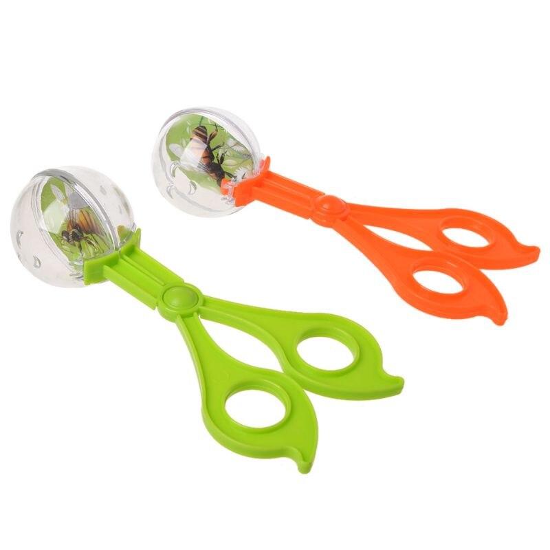 Plastic Bug Insect Catcher Scissors Tongs Tweezers For Kids Children Toy HandyPlastic Bug Insect Catcher Scissors Tongs Tweezers For Kids Children Toy Handy