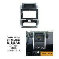 10.1 inch Car Radio Fascia Trim Kit for 2018 2012 NISSAN QASHQAI XTRAL MX6 Double Din Fascia Audio Fitting Adaptor Facia Panel