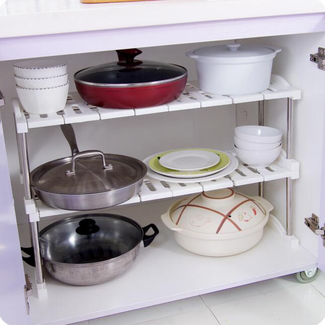 Awesome Multifunctional Stainless Steel Sink Shelf Kitchen Organizer Cabinet  Storage Rack(China (Mainland))