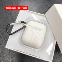 I30 TWS 1:1 replika rozmiar Bluetooth 5.0 słuchawki oddzielnego użytkowania Pop-up bezprzewodowe słuchawki 6D Super Bass PK W1 układu i20 i10 i12 TWS