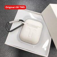 i30 TWS 1:1 Replica size Bluetooth 5.0 Earphones Separate use Pop up Wireless Earphone 6D Super Bass PK W1 chip i20 i10 i12 TWS