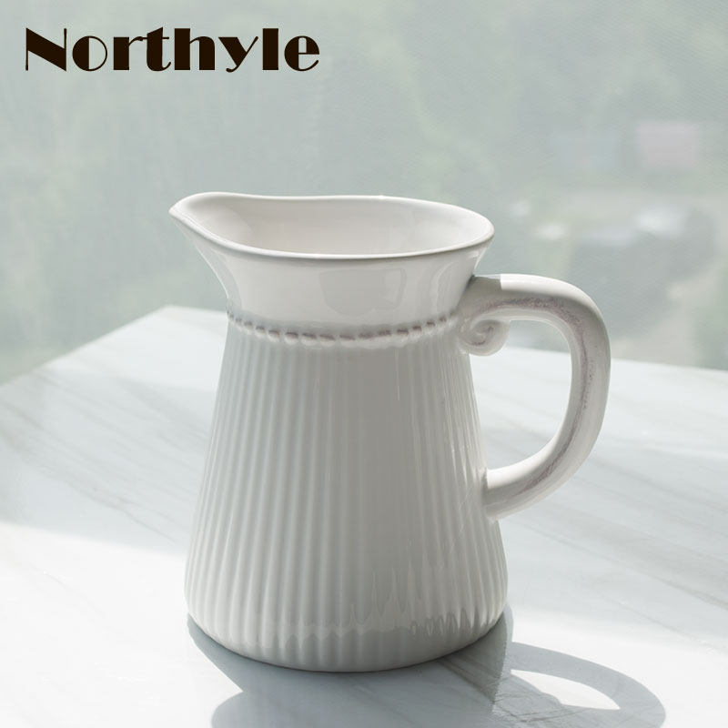 Online Shop Europe Classic White Ceramic Vase Chinese Arts And