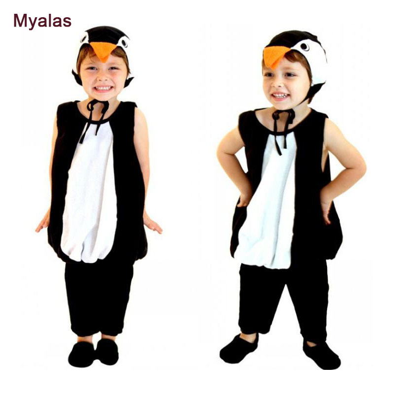 Kids Penguin Cosplay Costume For Children Halloween Costume for Girl And Boy Cosplay Costume Penguin Christmas Carnaval Costume