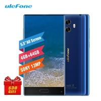 Ulefone MIX 4G 5 5 Smartphone 4GB 64GB Octa Core Celular Android 7 0 Fingerprint Gyro