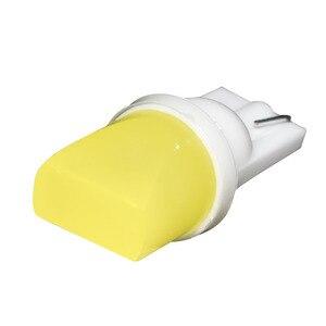 Image 4 - 1 pz LED W5W T10 194 168 W5W COB Led Lampadina Parcheggio Auto Cuneo Lampada di Liquidazione Bianco della Targa di Luce di Lampadine blu verde