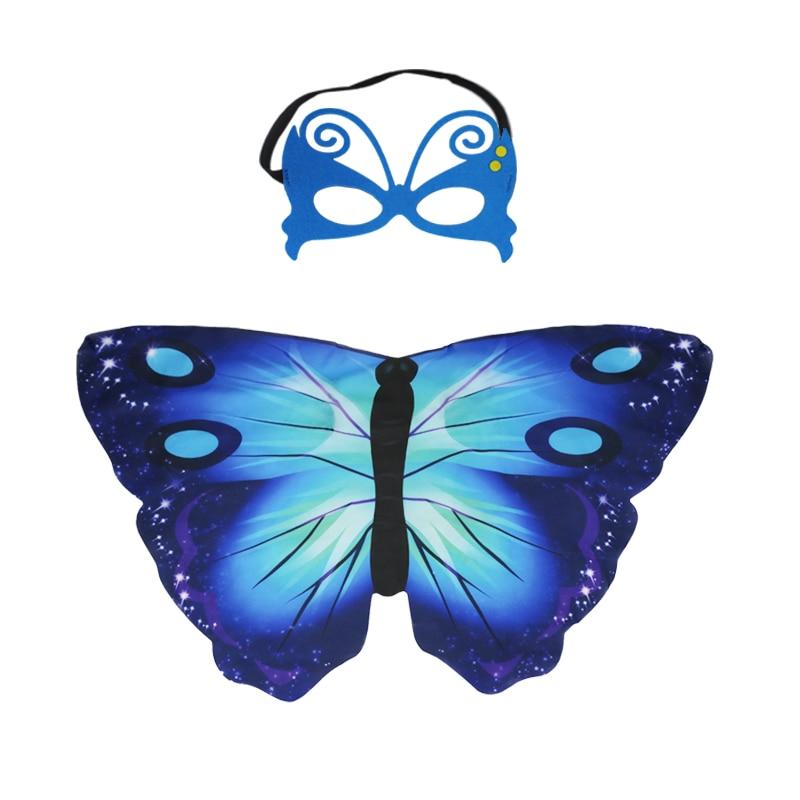 SPECIÁLIS 120 * 70 cm-es lányok karneváli jelmezek sötétkék - Jelmezek