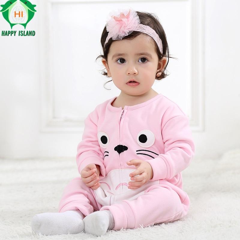 Christmas Baby Boy Girl Clothes One Set Of Children Cartoon Totoro Cute Pajamas Infant Climb Clothing Newborn Baby Kawaii Romper