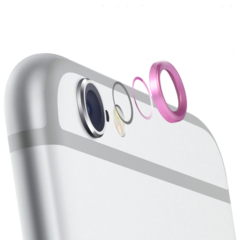 best service df1fb 5be4f US $0.9 |Rear Camera Lens Protective Ring Cover Protector Protection 5.5in  For iPhone 6 Plus 6s Plus Metal Case Luxury Mobile Accessories-in Fitted ...
