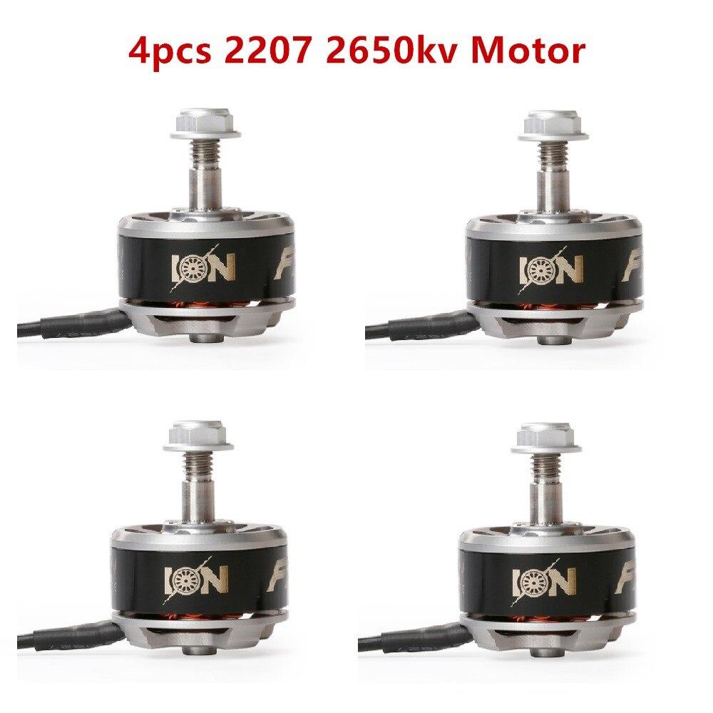 4 unids unidades Iflight Ion Drive Atom Series 2207 1660kv 2500kv Fpv Motor de carreras para Racing drone mini quadcopter