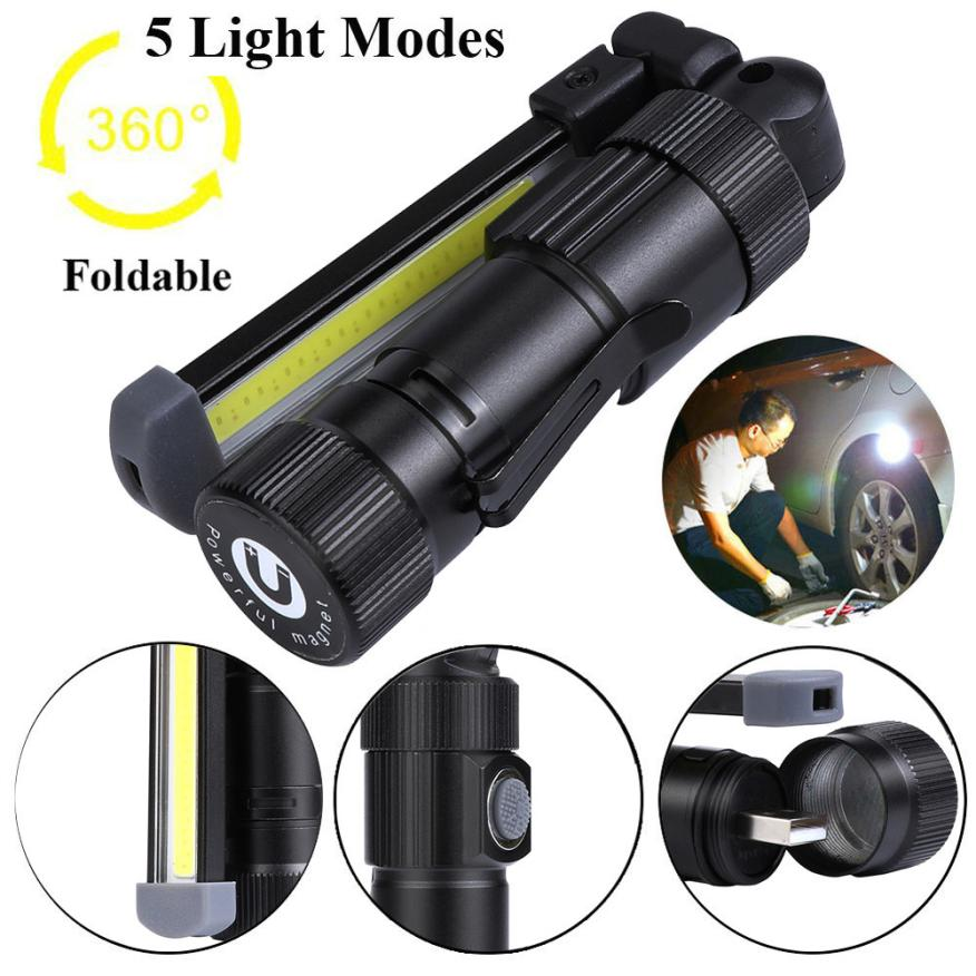 30 Led Rechargeable Inspection Lamp Light Torch Cordless: Aliexpress.com : Buy 2018 New Arrival COB+LED Rechargeable