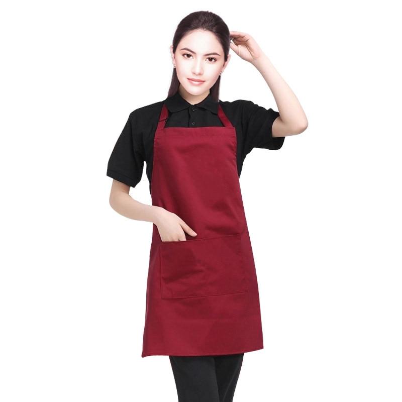 Kitchen Chef Apron Restaurant Baking Cooking Catering Bib Dress Crafting Dress