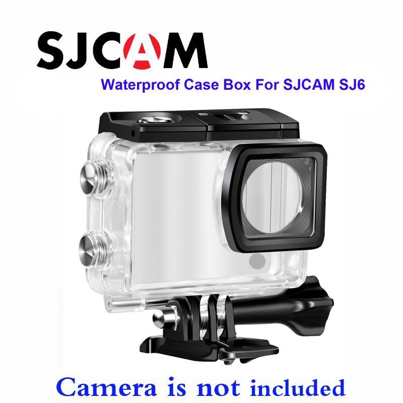Free shipping!! Original Underwater Waterproof Case for SJCAM SJ6 Diving 30M Waterproof Helmet Cam DVR цены