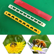 beekeeping supplies10 PCS 8 Holes Bee Hive Beehive Yellow Nest Door Gate Anti-run Beekeeping Tool Decoration convenient  product
