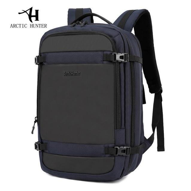 minorista online ea245 b6290 US $33.98 50% OFF|ARCTIC HUNTER Disassemble Multifunction 17 inch Laptop  Backpacks For Teenager Business Male Mochila Men Travel Backpack Bag-in ...