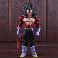 Dragon Ball GT Toys Vegeta Super Saiyan 4 Figure PVC DBZ Figure Action Collectible Model Toy 27cm