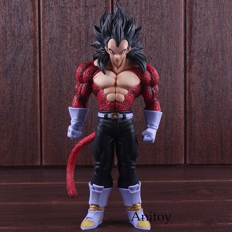 Dragon Ball GT Toys Vegeta Super Saiyan 4 Figure PVC DBZ Figure Action Collectible Model Toy 27cm