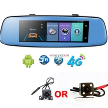 7.84″ 4G Car DVR Mirror Rearview Mirror Car Camera GPS Navigatior Remote Monitor Smart Android 5.1 Dual Lens 1080P WIFI Dashcam