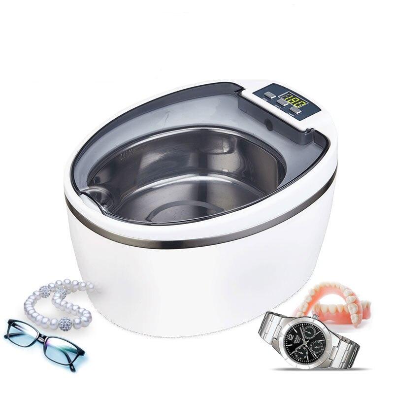 все цены на 220-240V SU-766 ultrasonic cleaning machine Household Glass washing machine Contact lens washing machine Jewelry watch Washer