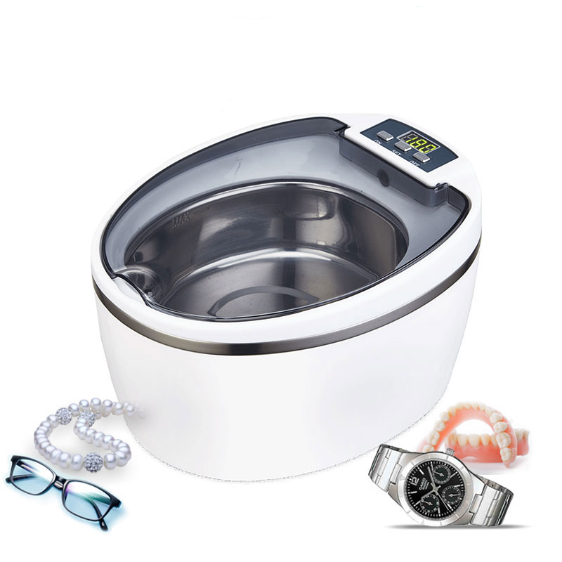 220 240V SU 766 ultrasonic cleaning machine Household Glass washing machine Contact lens washing machine Jewelry watch Washer