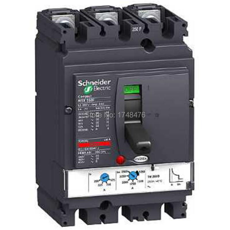 NEW LV431830 circuit breaker Compact NSX250N TMD 250A 3 poles 3d