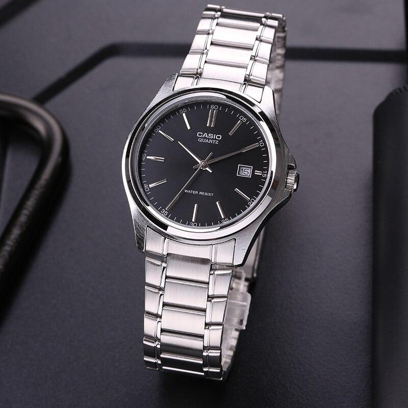 12f573339b2 Casio Assistir relógio dos homens de metal de negócios versátil simples MTP -1183A-1A
