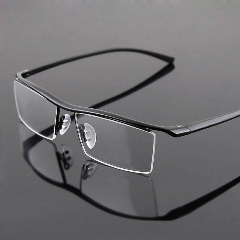 d258bb6224 Detail Feedback Questions about Agstum Titanium Mens Nickle Free Half Rim  TR90 Eyeglasses Frames Optical Rx able on Aliexpress.com