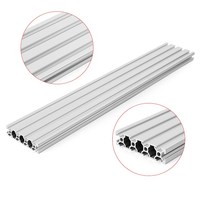 1PC 600mm Length 2080 Aluminium Alloy T Slot Profiles Extrusion Frame Linear Rail For CNC 3D