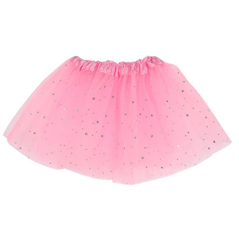 Cute Baby Girls Skirts 1-5Y Kid Girls Fluffy Sequins Flash Dance Tutu Skirt Princess Skirt Dance Wear Party Clothes LH7s