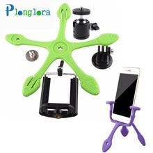 Mini Trépied Portable Flexible Stand/Support pour je Téléphone Gopro xiaomi yi Sj4000 SJCAM Sport Caméra Accessoires