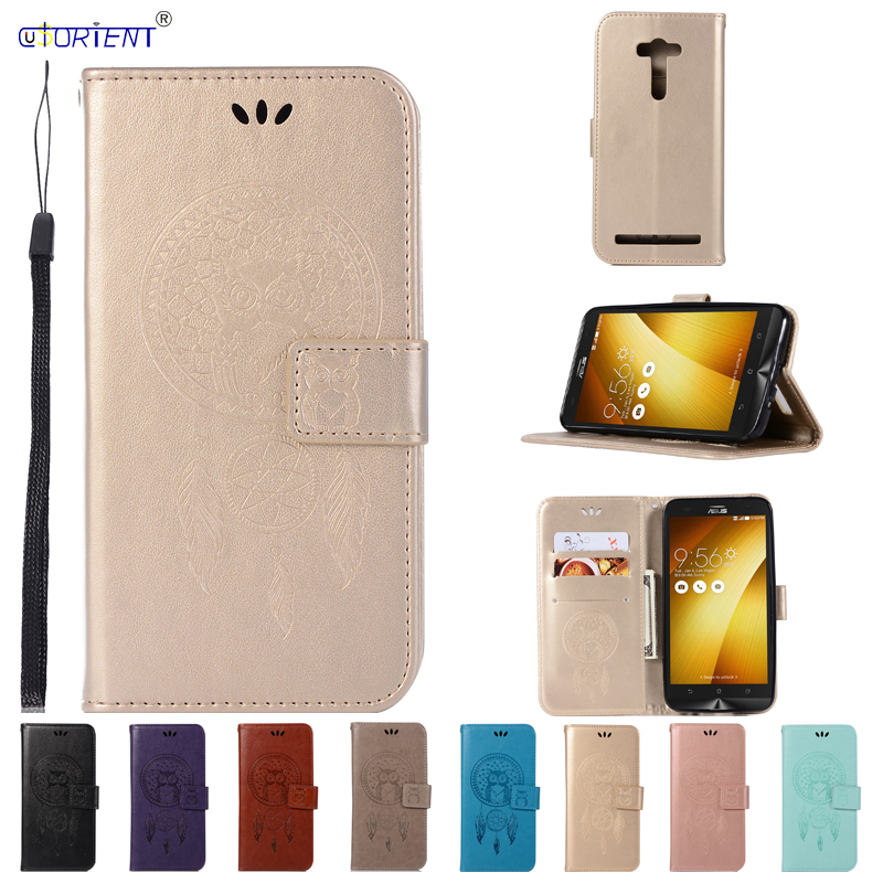 Flip Case for ASUS Zenfone 2 laser ZE550KL Case Phone Leather Cover for ASUS Z00LD <font><b>ZE</b></font> ZE550 <font><b>550</b></font> 550KL <font><b>KL</b></font> ASUS_Z00LD Funda Coque image