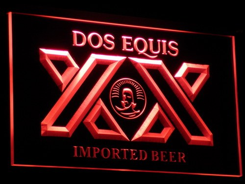 a042 Dos Equis Beer Bar Pub Restaurant Neon Sign with On/Off Switch 20+ Colors 5 Sizes to choose