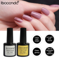 Nail Gel Polish Soak Off UV Top Base Coat Gel Polish Primer Lasting 10ml Nail Gel Lacquer Manicure Nail Art Varnishes Gelpolish
